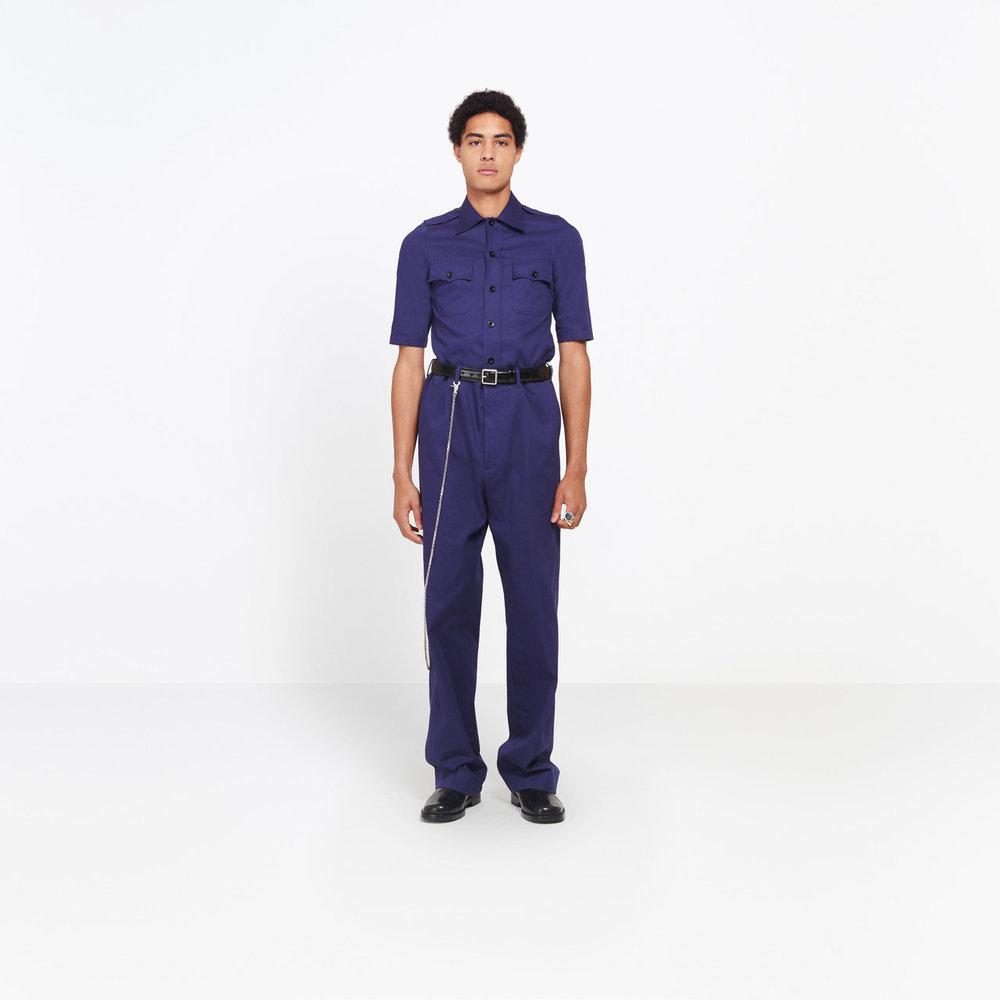 Navy Chino Pants