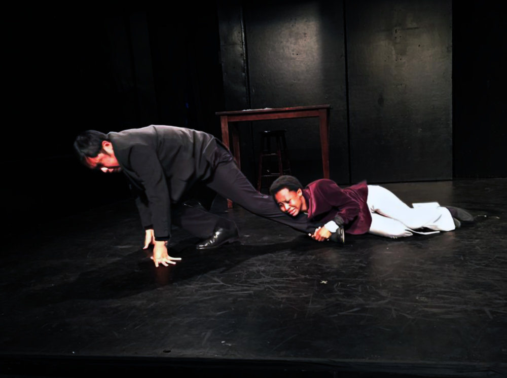 Oscar and Bosie Have a Tiff (Philip Estrera & Mirirai Sithole) By: Andrew Rincon | Directed by Liz Thaler