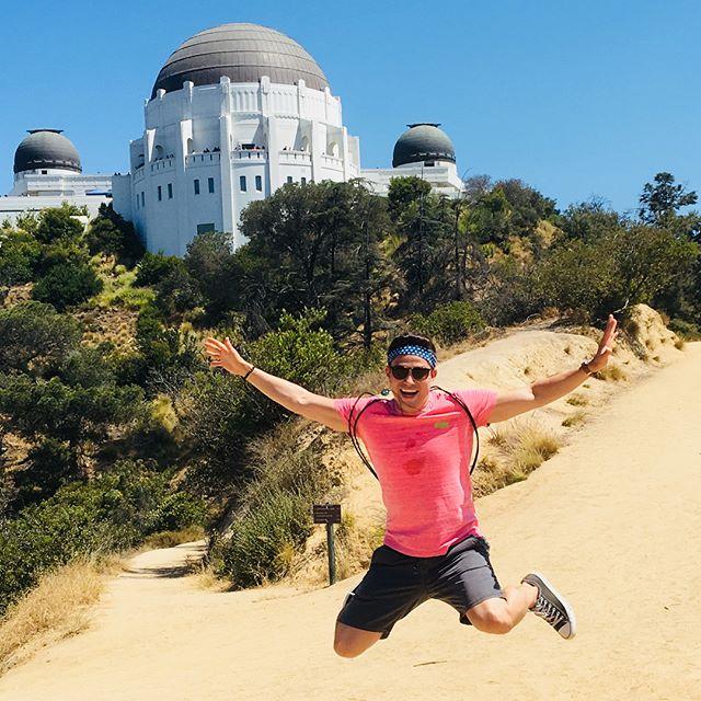 Jumping around LA and Malibu 🌴