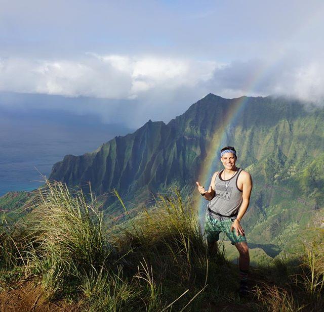 Kalepa Ridge Trail, Kauai. 🤙🏼