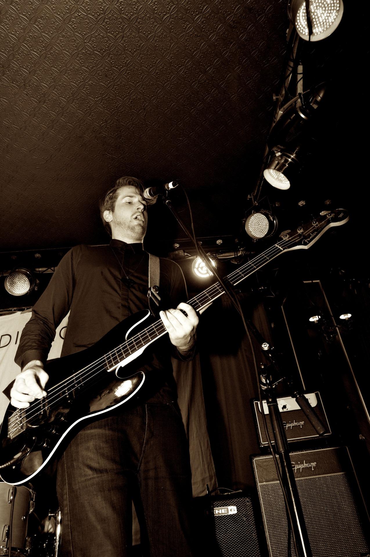 Luke Marchant (Bass,The Diamond Noise)