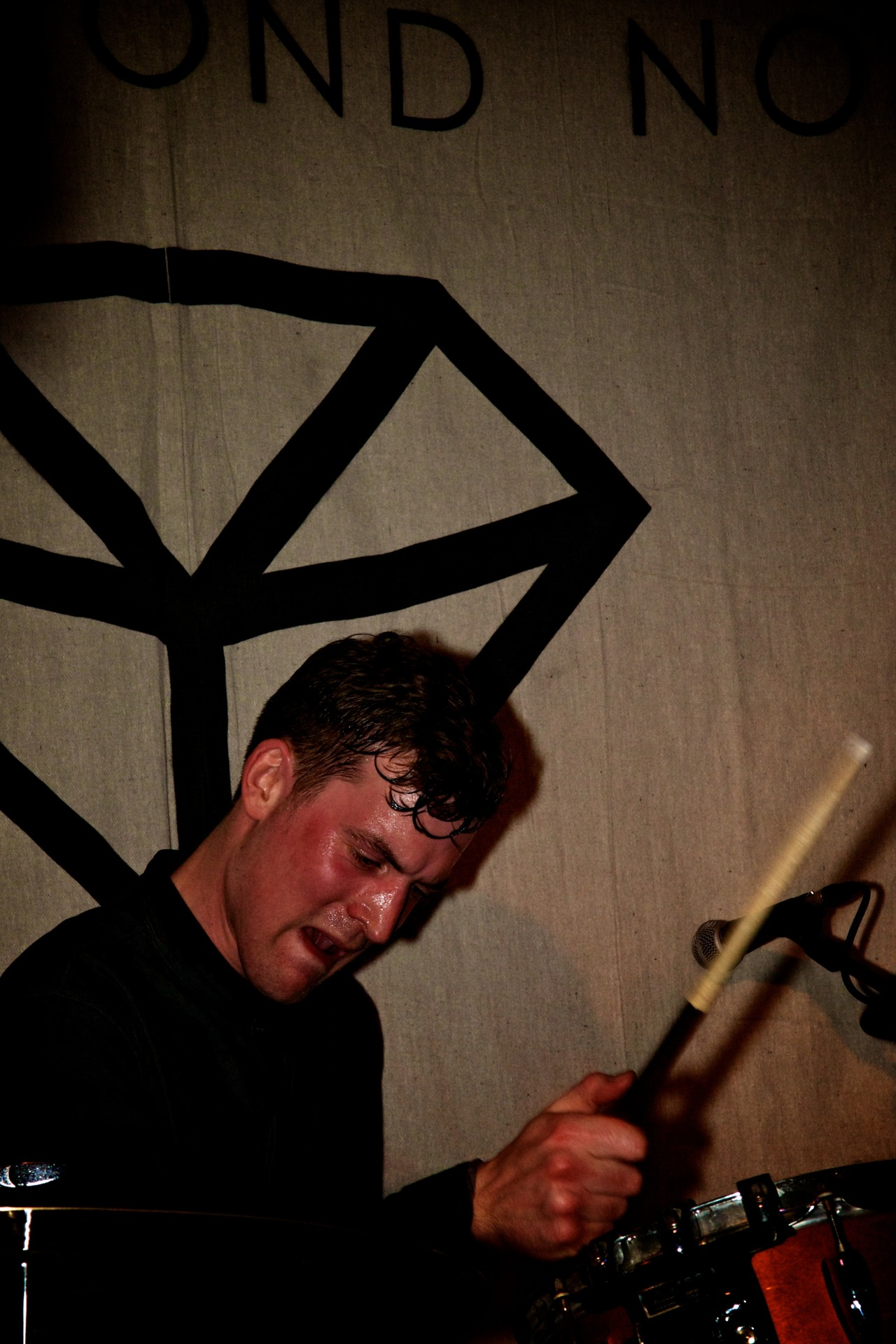 Hugh Scott Moncrieff (Drums, The Diamond Noise)