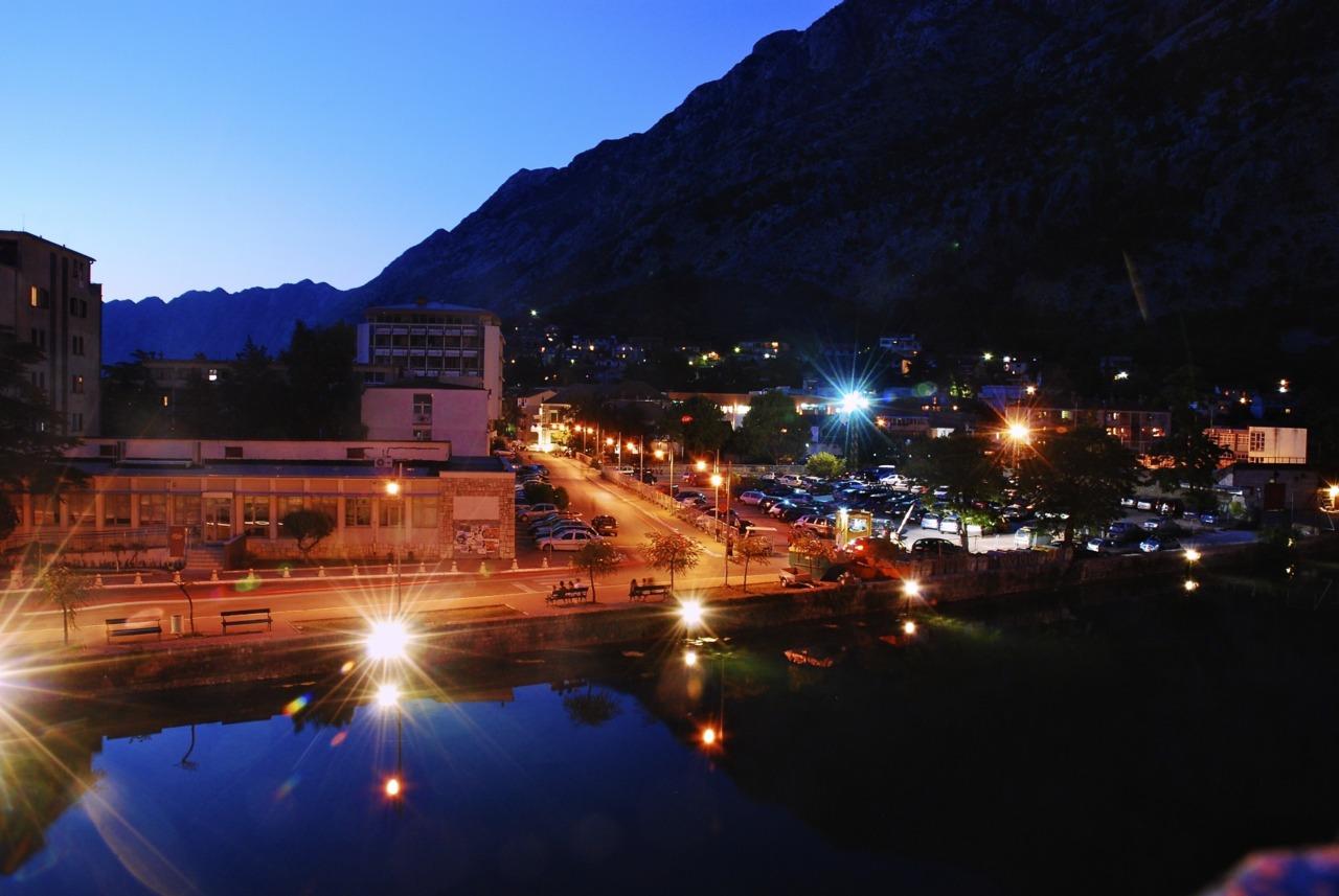 Moat At Night