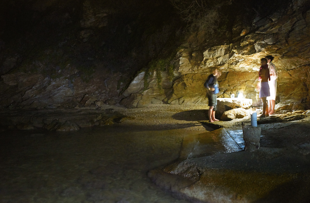 Night swimming in Phosphorescence