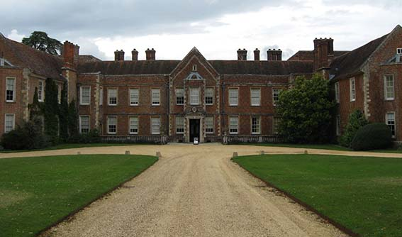 One of the photos of The Vyne taken on my visit in 2011.