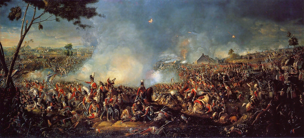 Battle of Waterloo 1815  by William Sadler 11