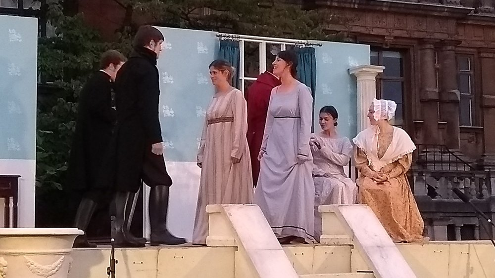 Pride and Prejudice performance by the Chapterhouse Theatre Company