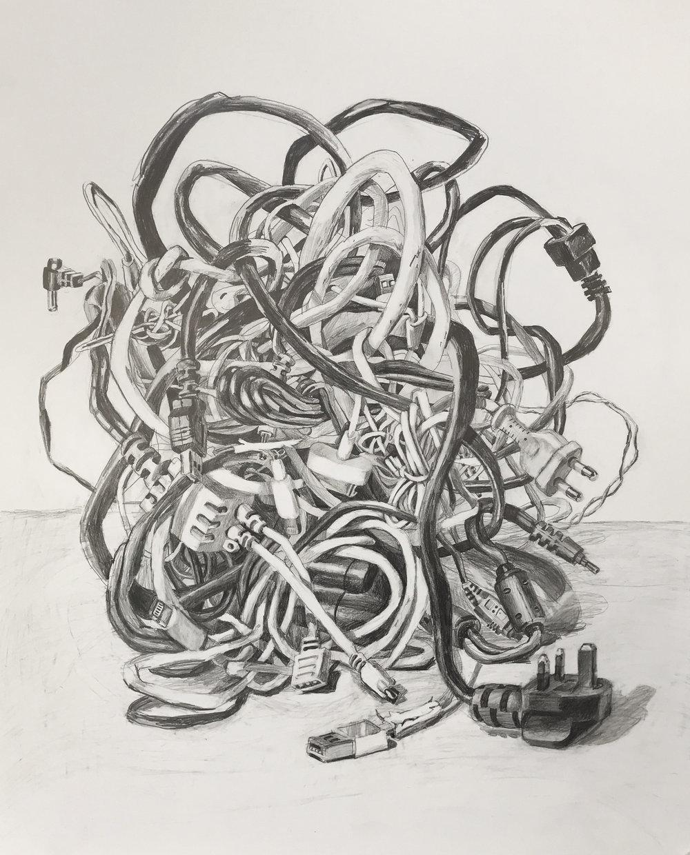 'Patience' 86 x 69 cm, pencil on paper  enquiries: susannah.pal@hotmail.com