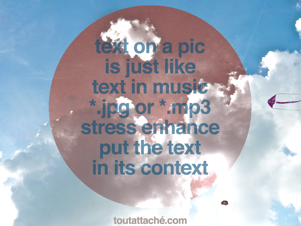 text on a pic is just like text in music.png