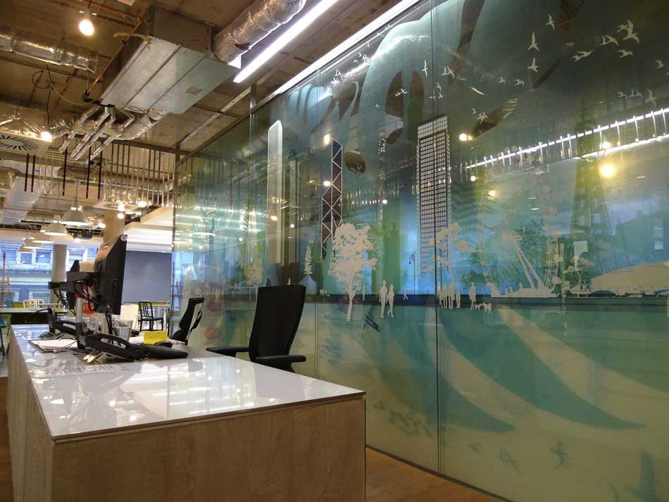 Window film company london display graphics for Window manifestations