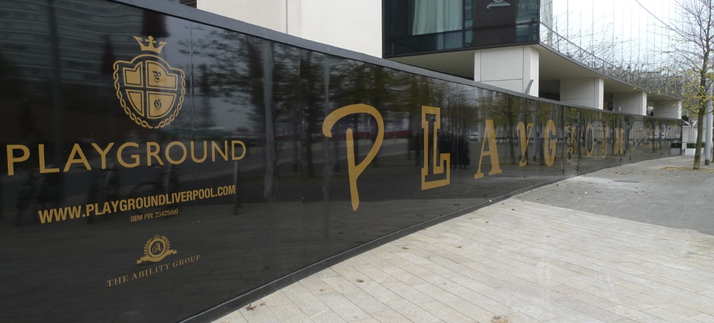 Site Hoarding And Signage London Display Graphics