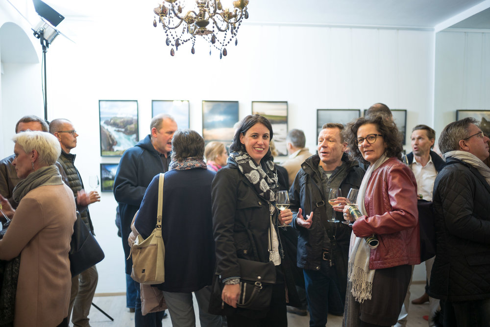 Vernissage Photo Storm Camp Ireland - Galerie LIK Vienna