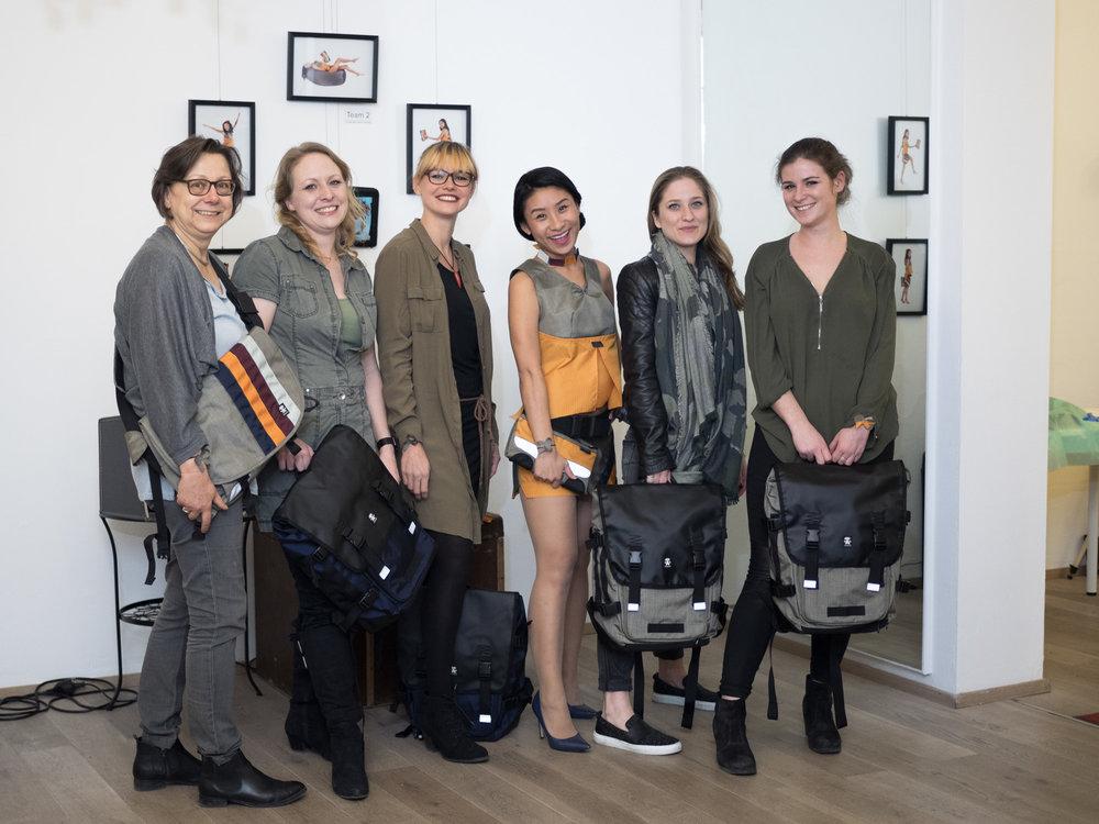 """Siegerteam """"Redesign"""" Sigrid Körbler, Doris Schiffer, Yvonne Gratzer und Lena Oberhofer #tobdichaus"""