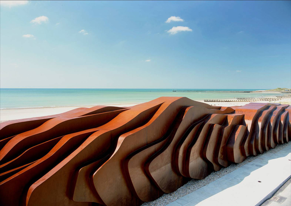 East Beach Cafe ,  Littlehampton, UK Heatherwick Studio Project Architect: Peter Ayres