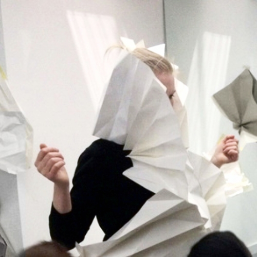 Paper Sculpture - Workshops for Clerkenwell Design Week