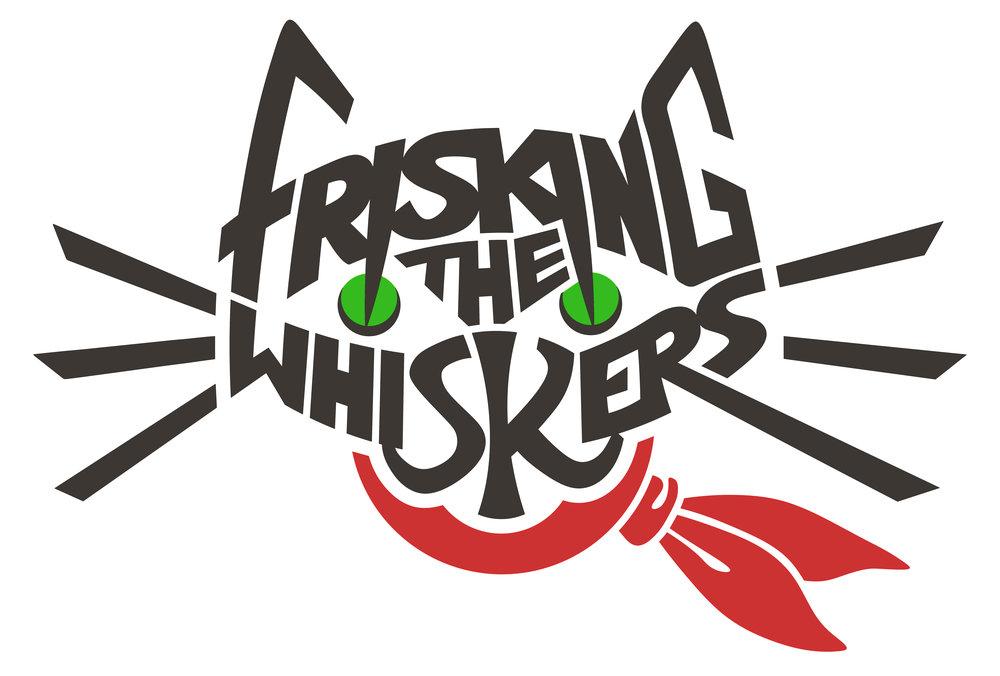 Frisking the Whiskers  vintage weekender logo