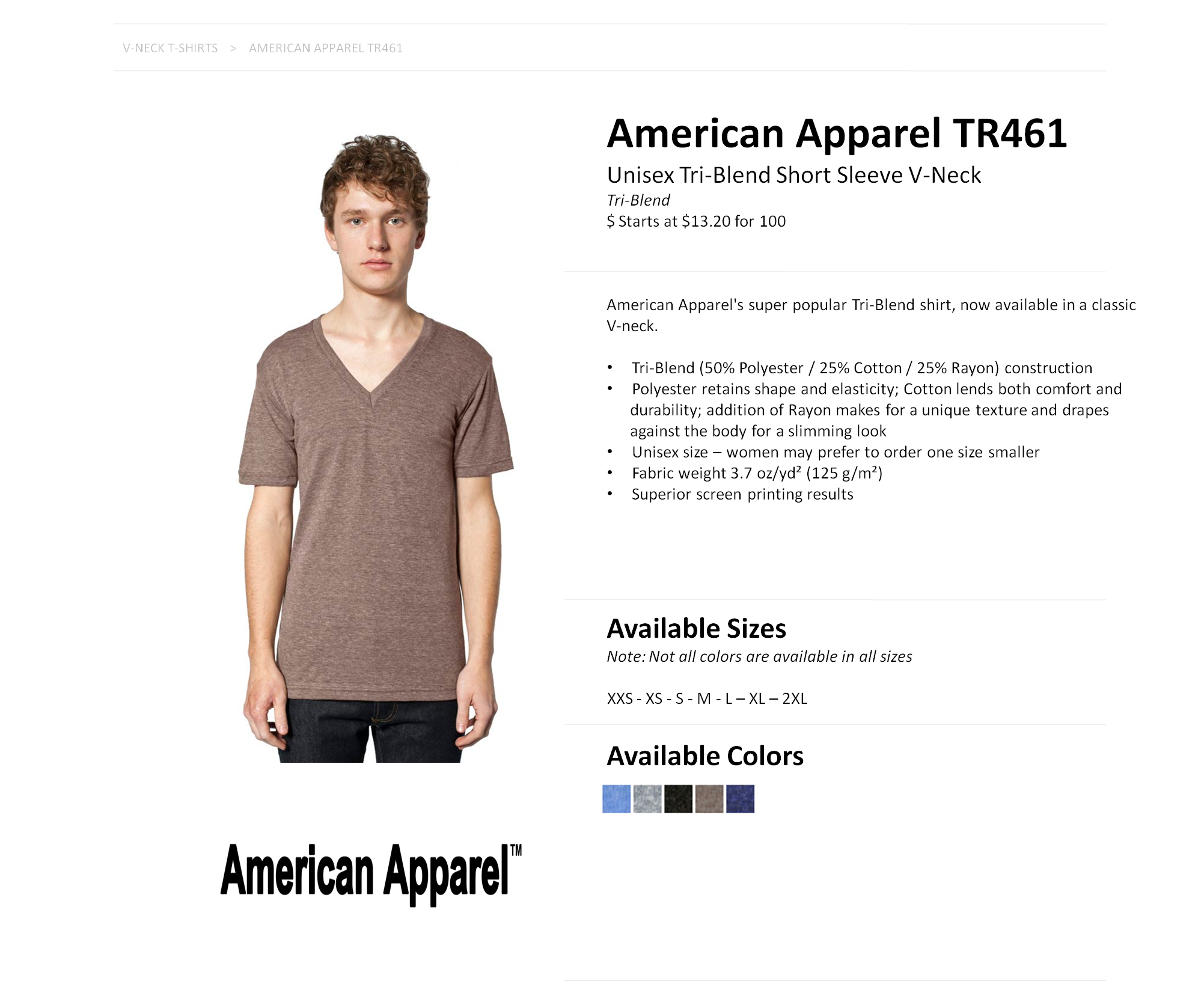 602a9330d American Apparel Tri Blend T Shirt Sizing – EDGE Engineering and ...