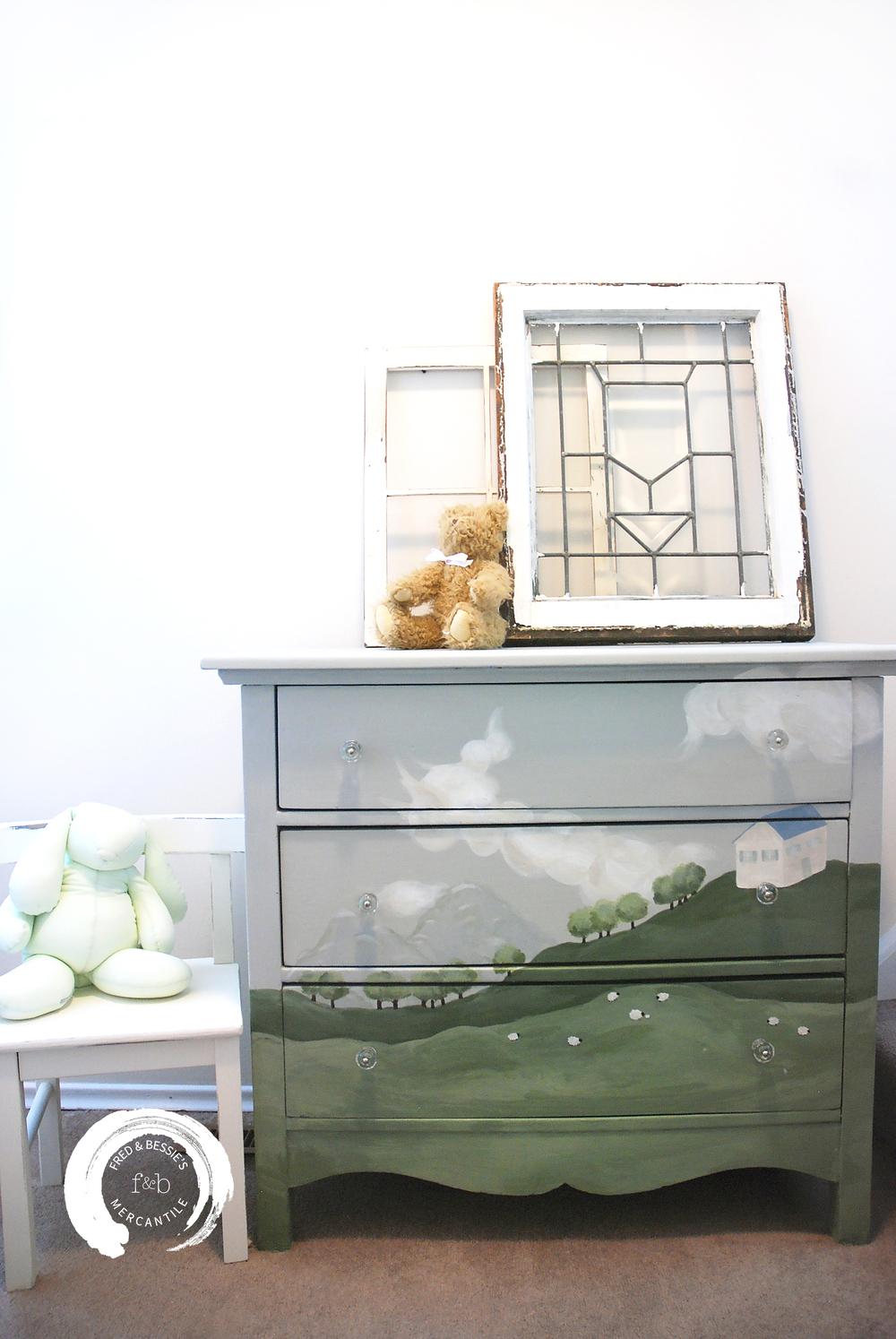 Pastoral Dresser