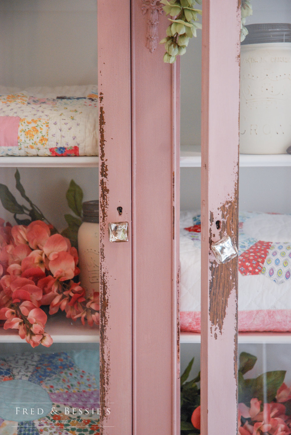 Arabesque Quilt Cupboard
