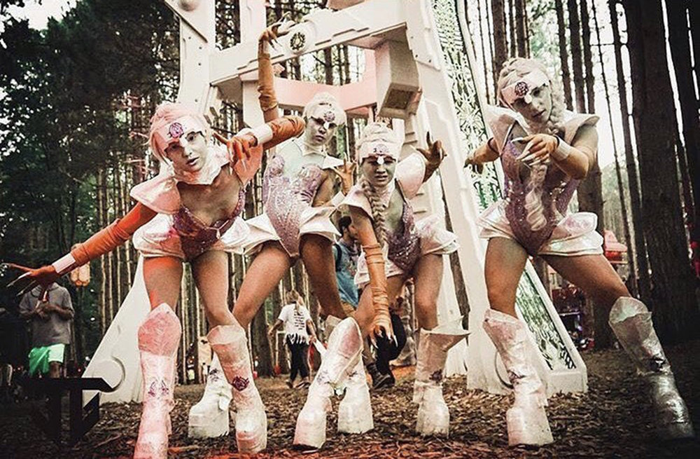 Baelien Encounters - Electric Forest 2017 Roaming Characters