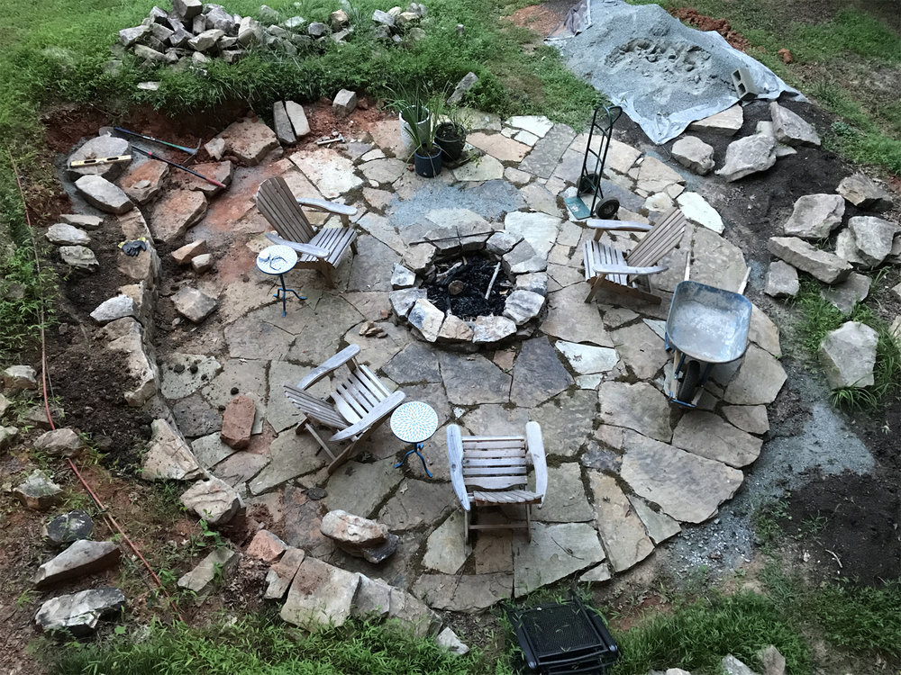 shadyside PATIO + FIREPIT