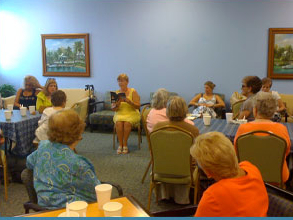 Presentation of The Philosophy of My Wandering Cat at Key Biscayne Community Center