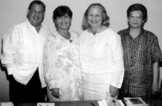 Manuel Salvat, Elena, Olga Connor & Isabel Castellanos