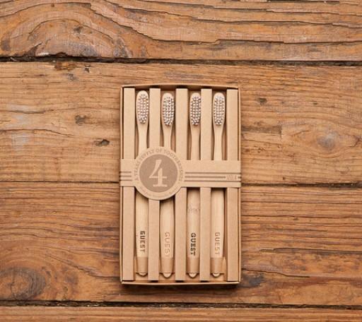 Набор бамбуковых зубных щёток 160 грн.