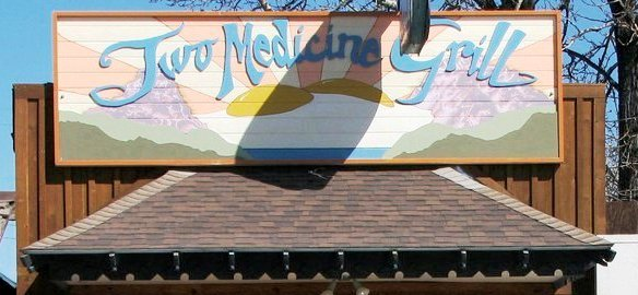 Eat at the  Two Medicine Grill .  406.226.9227 314 US Highway 2 East Glacier, MT 59434