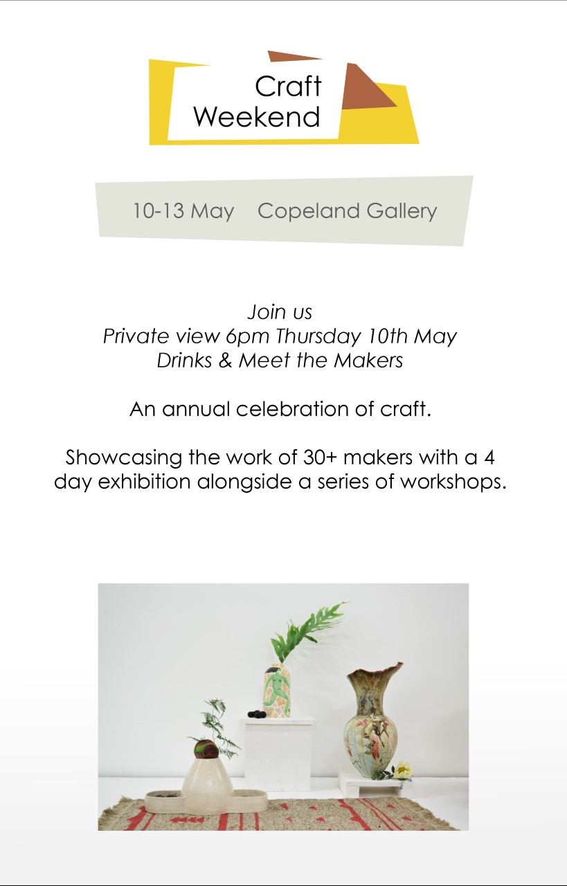 thumbnail_Craft Showcase Private View Invite - Copeland Gallery..jpg