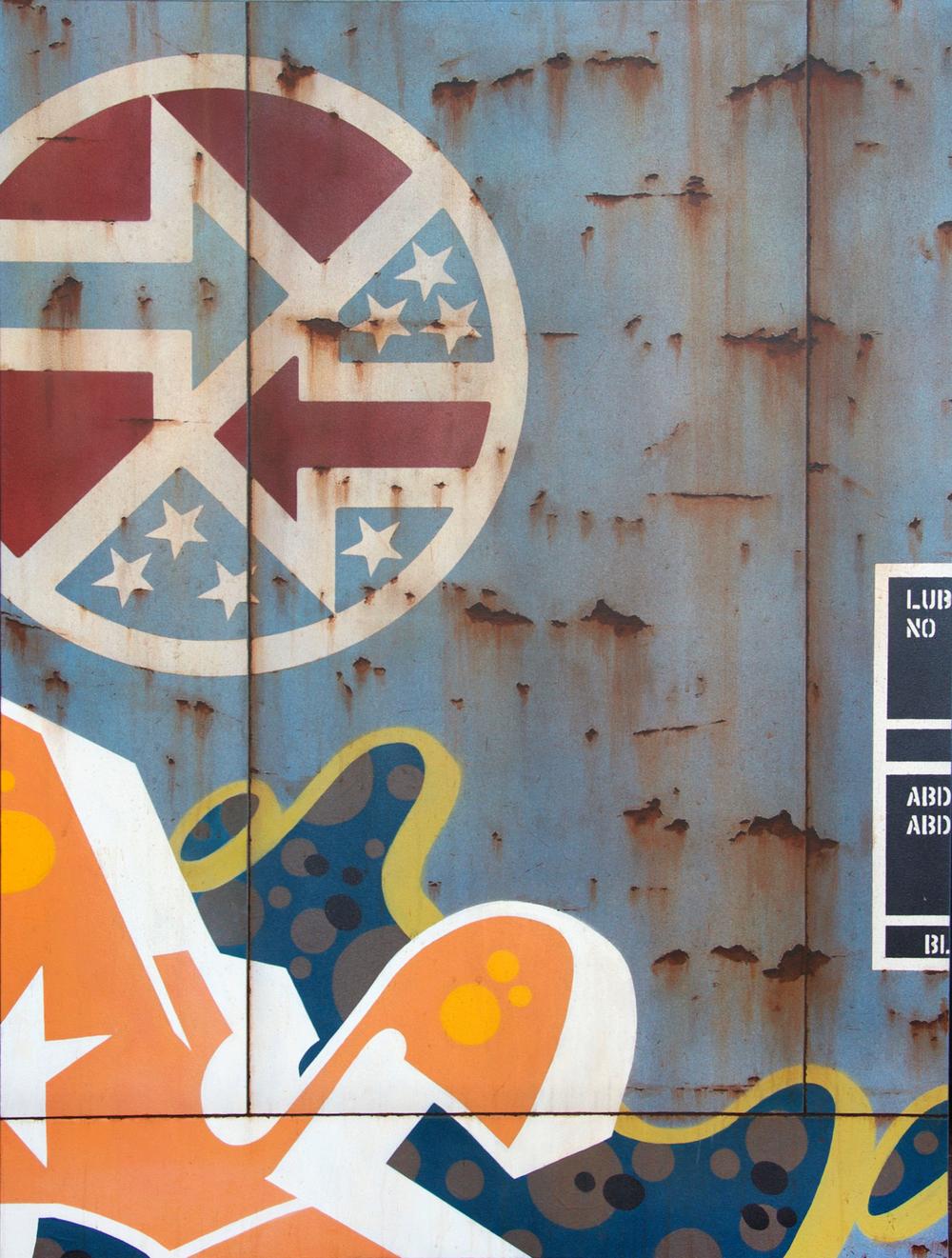 Blank Canvas #68 - PICKens, Freight Train Painting, Boxcar Painting, Railroad Art, Tim Conlon Art