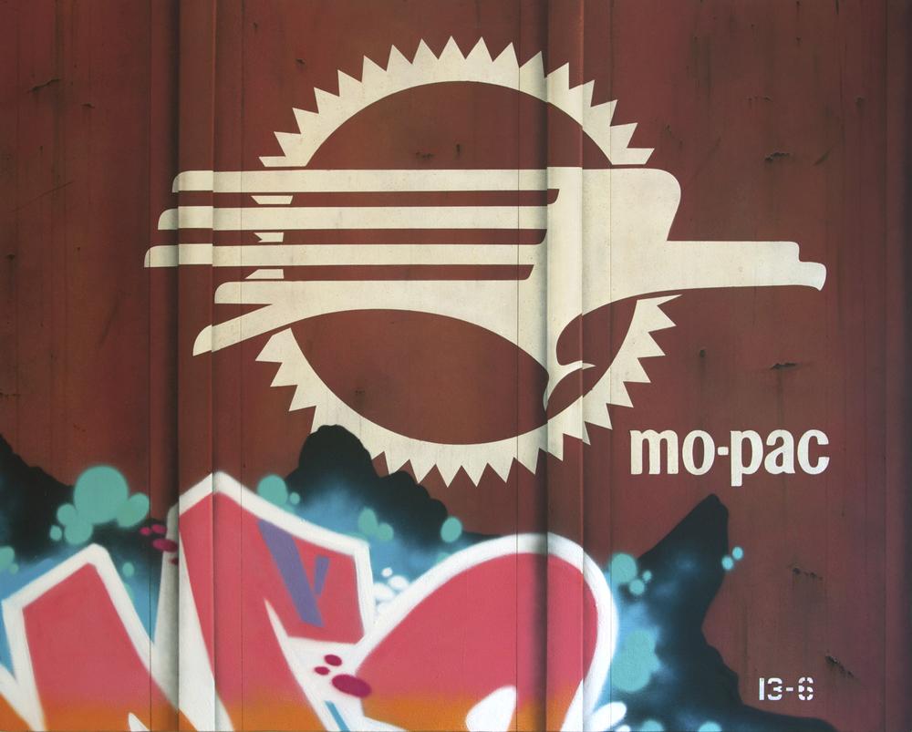 Blank Canvas #57 – MOPAC, Freight Train Painting, Boxcar Painting, Railroad Art, Tim Conlon Art