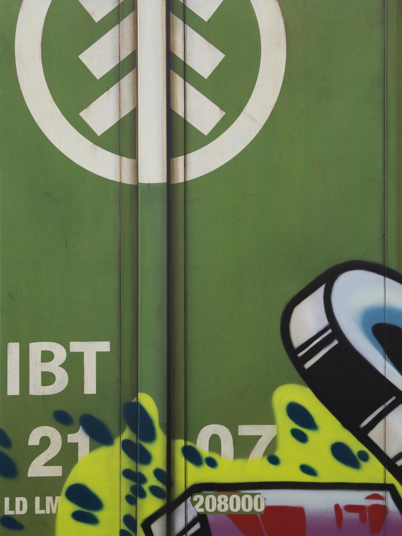 Blank Canvas #48 – IBT, Freight Train Painting, Boxcar Painting, Railroad Art, Tim Conlon Art
