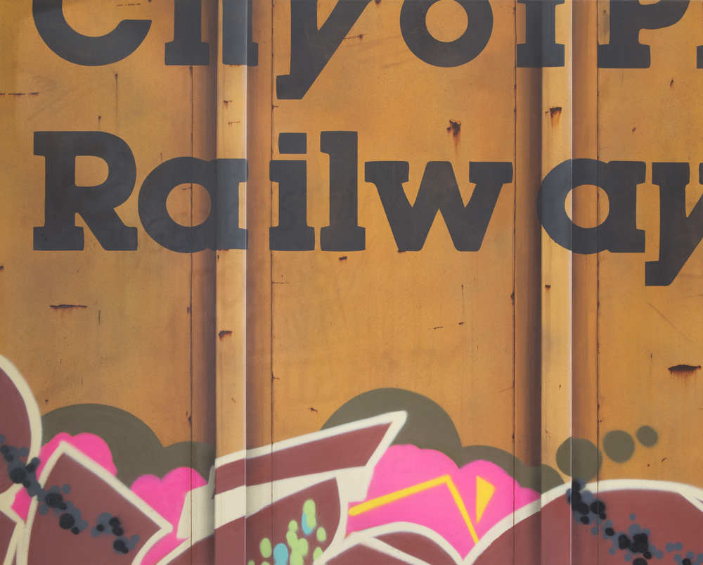 Blank Canvas #47 – COPR, Freight Train Painting, Boxcar Painting, Railroad Art, Tim Conlon Art