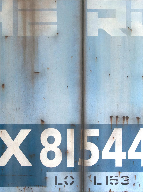 Blank Canvas #37 - The Rock, Freight Train Painting, Boxcar Painting, Railroad Art, Tim Conlon Art