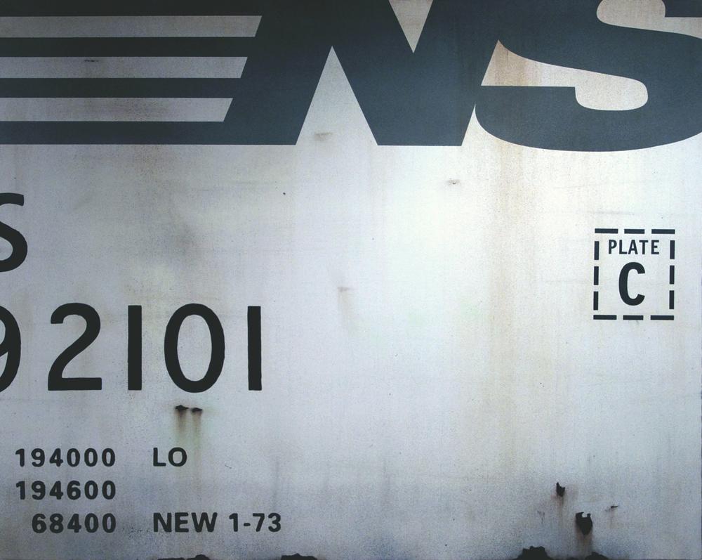 Blank Canvas #28 – NS, Freight Train Painting, Boxcar Painting, Railroad Art, Tim Conlon Art