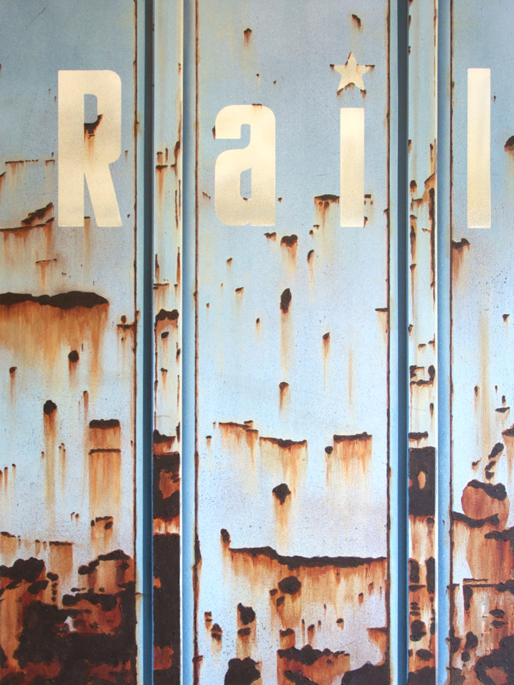 Blank Canvas #26 – MQT, Freight Train Painting, Boxcar Painting, Railroad Art, Tim Conlon Art