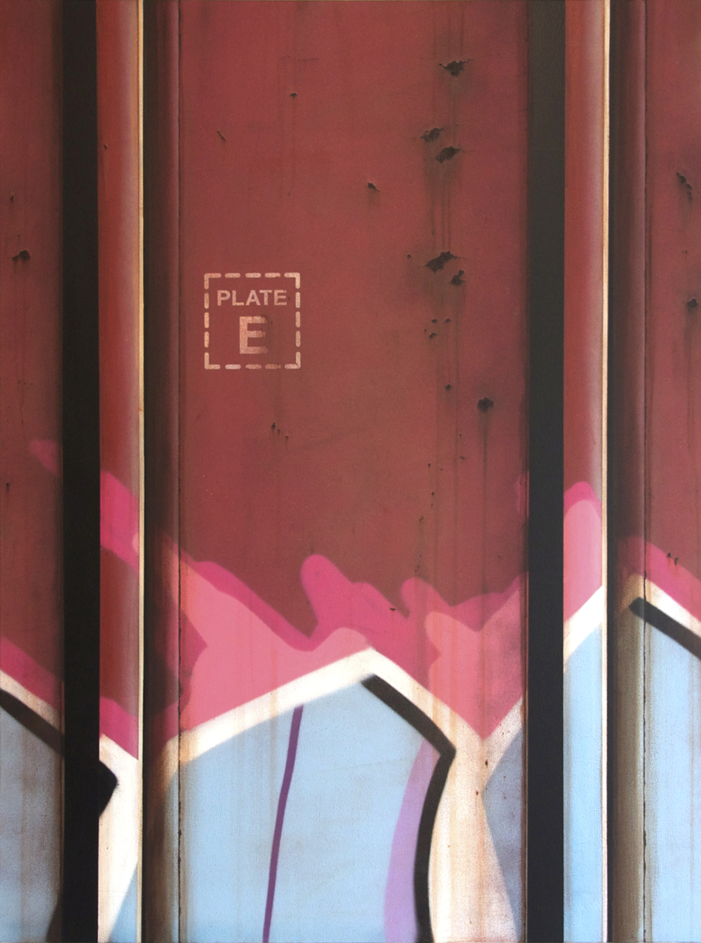 Blank Canvas #24 – MOPAC, Freight Train Painting, Boxcar Painting, Railroad Art, Tim Conlon Art