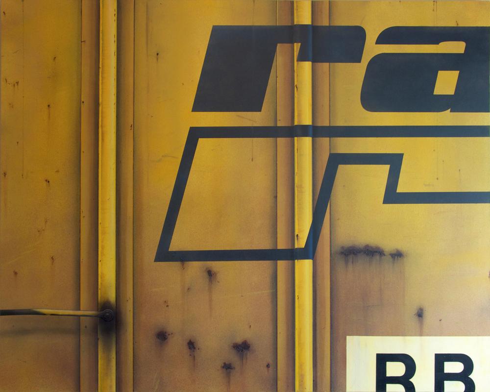 Blank Canvas #21 – RBOX, Freight Train Painting, Boxcar Painting, Railroad Art, Tim Conlon Art