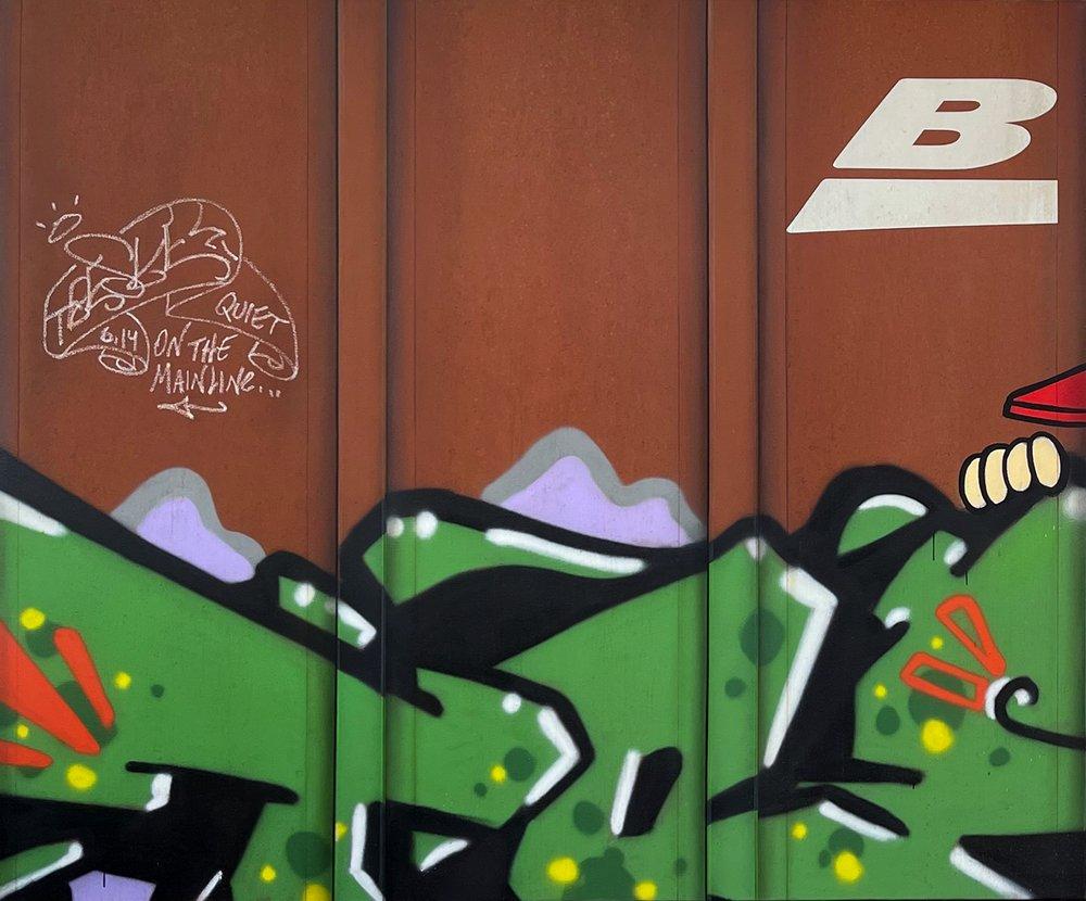 Blank Canvas #88 - BNSF
