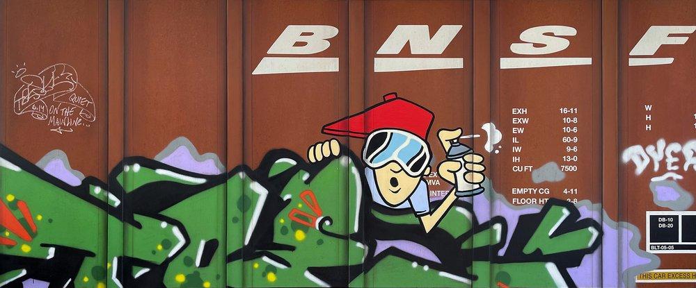 Blank Canvas #88 & 89 - BNSF
