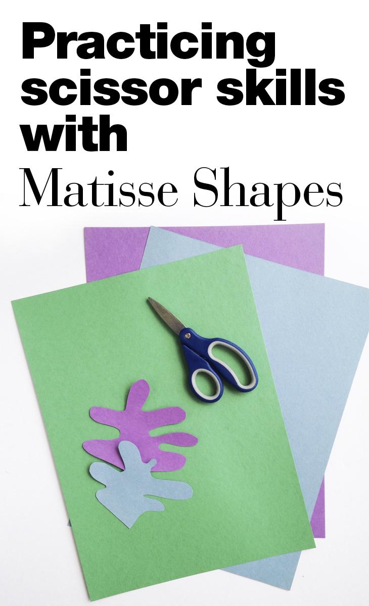 Cut Paper Matisse Shapes — Art History Kids