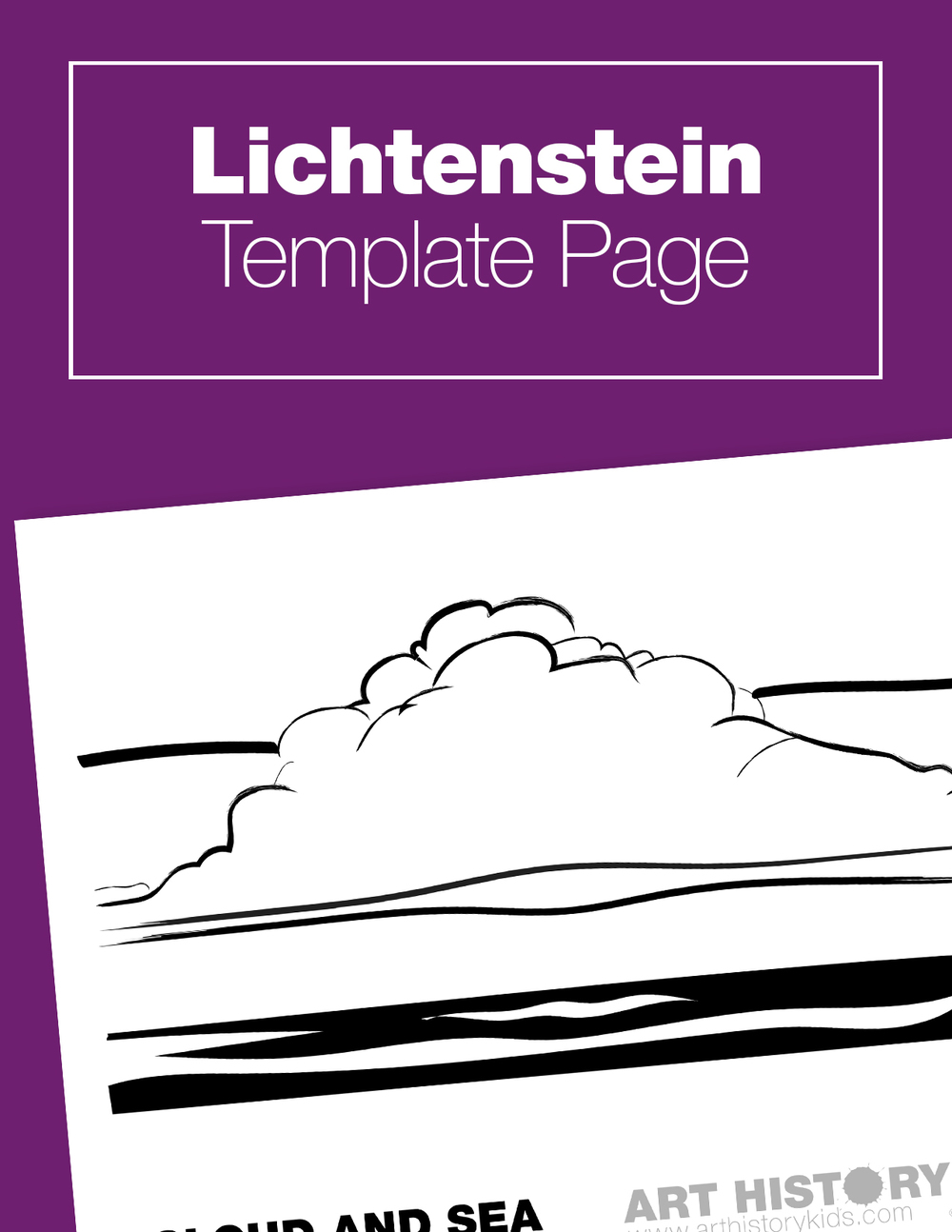 Art History for kids! Learn about Lichtenstein with this fun and interactive pop art project.