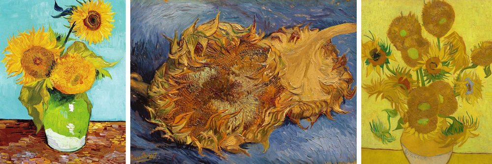 Invite your kids to explore their creativity! Look at van Gogh's Sunflowers for inspiration, then they can paint their own... and even learn a super cool math concept in the process!