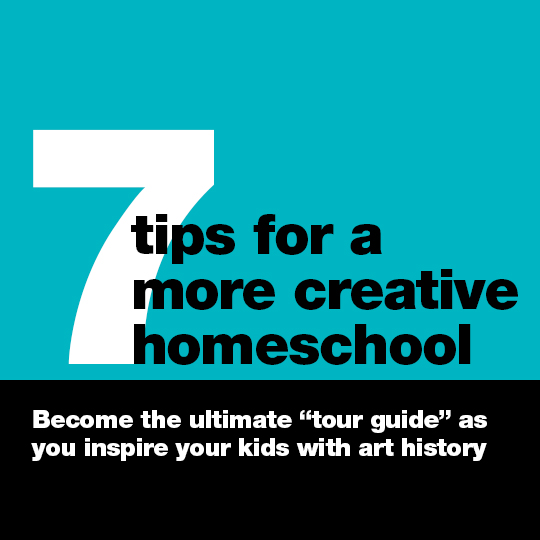 Transform your homeschool into a creative environment that inspires curiosity, and instills a love of beauty and art. These 7 steps will have you on your way in no time! You'll especially love #5... it's so easy, and yet barely anyone does it!