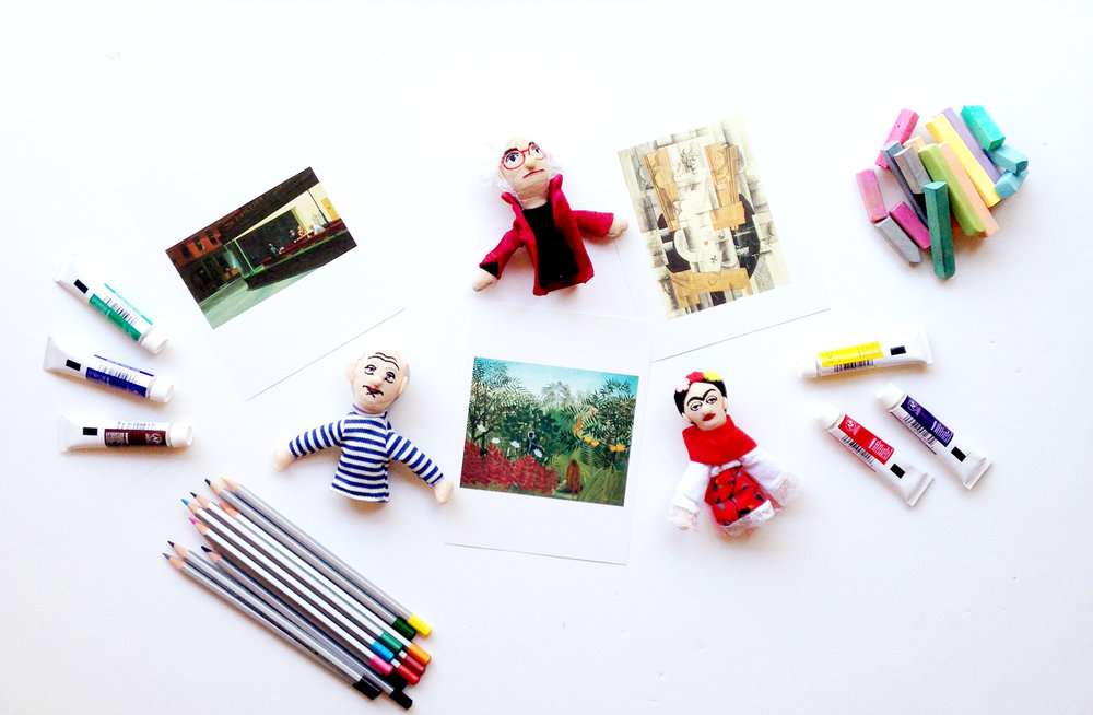 Playful Art History for Kids. Homeschool art curriculum ideas.
