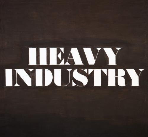 Heavy Industry ,Ed Ruscha,1962