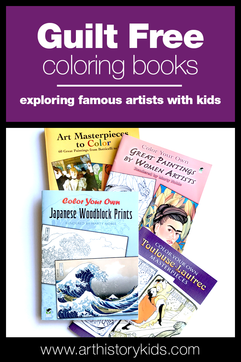 "Coloring books you can feel good about giving your kids... and some fun, ""out of the box"" to use them to spark creativity!"