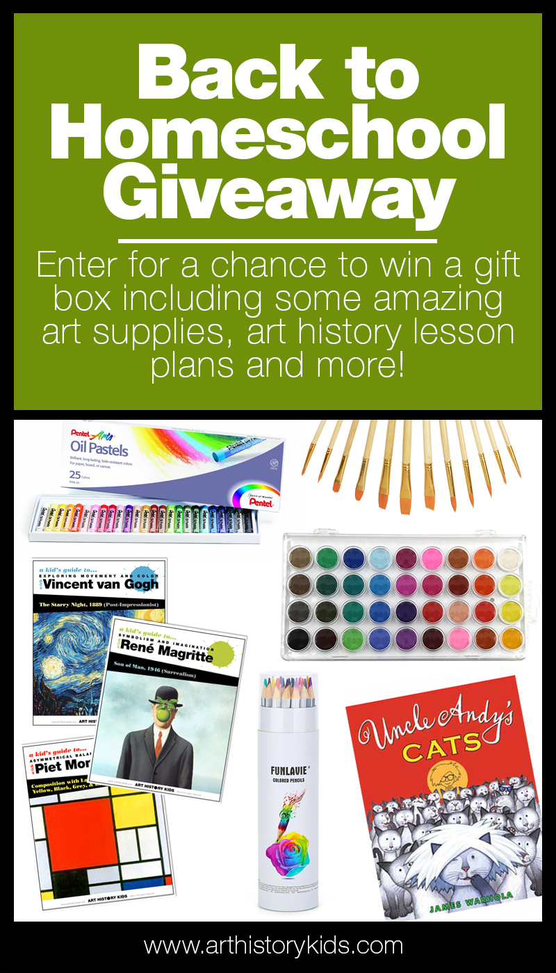 Back to Homeschool Giveaway! Start your new homeschool year with fun art supplies, engaging (open-ended) project ideas, and silly stories.