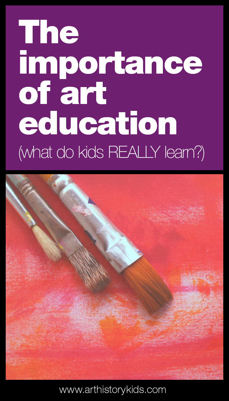 The importance of art education – what do kids really learn? Why you should include art curriculum in your homeschool, and how to effortlessly teach art to your kids.